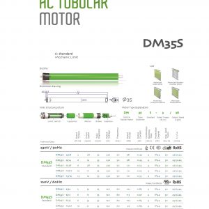 Motor man cuon 300x300 - MOTOR MÀN CUỐN DOOYA