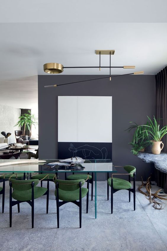 Gray Dining Room Designs