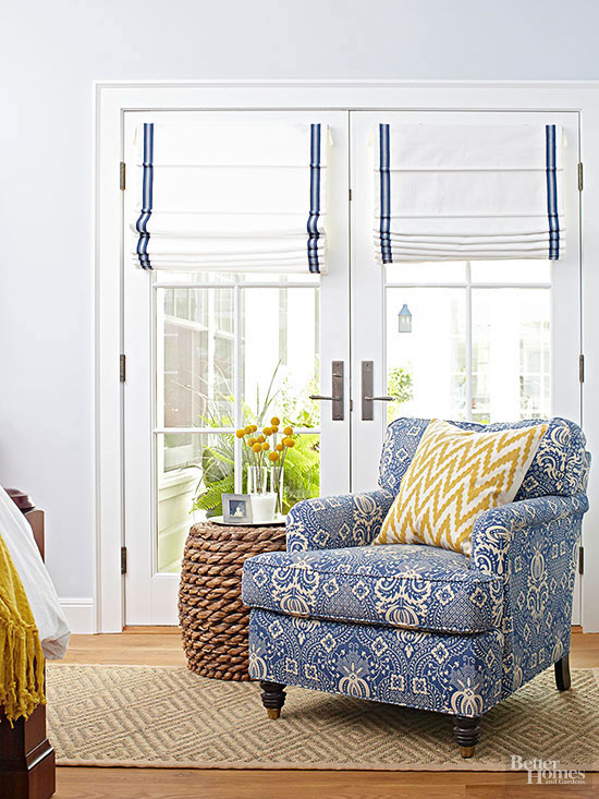 Window Treatments for Complicated Doors