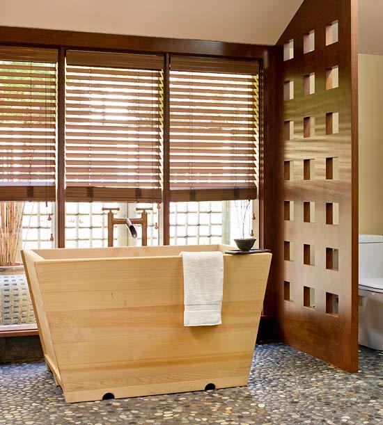 Trang Trí Màn Cửa Phòng Tắm