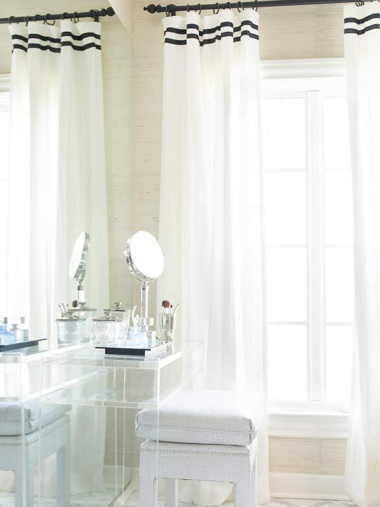 Màn Cửa Trang Trí Phòng Tắm