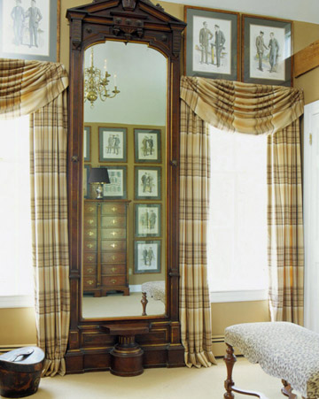 Frame the Windows with Plaid - Frame the Windows with Plaid
